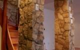 Rubble stone basement accents